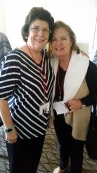 Class of '67  Nancy Cassara Putman and Diana Del Toro
